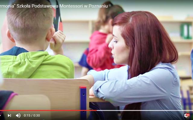 Reklama szkoły w TV